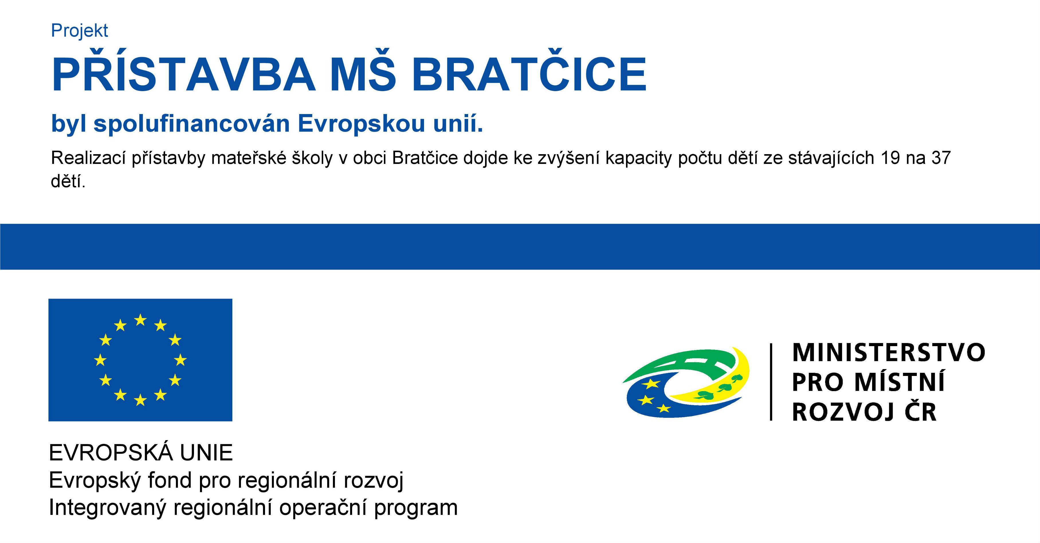 INTEGROVANÝ REGIONÁLNÍ OPERAČNÍ PROGRAM ČR  (IROP)