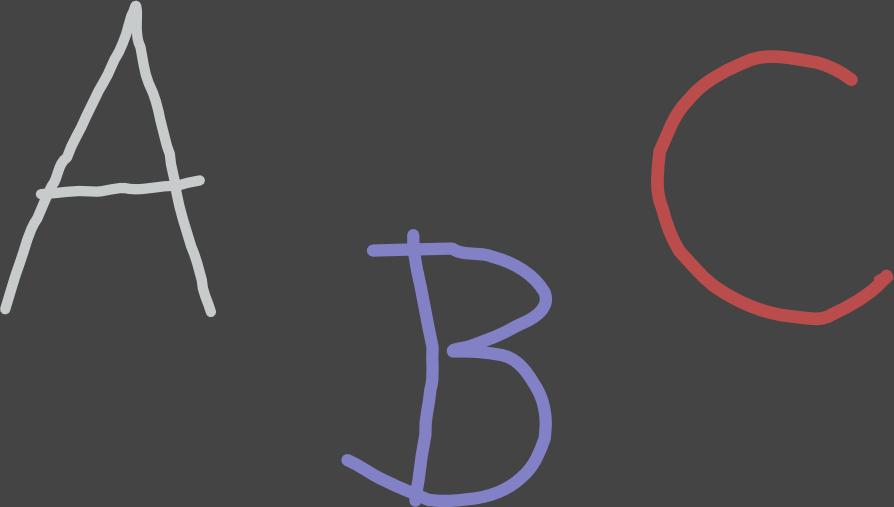 dekorace - znaky ABC