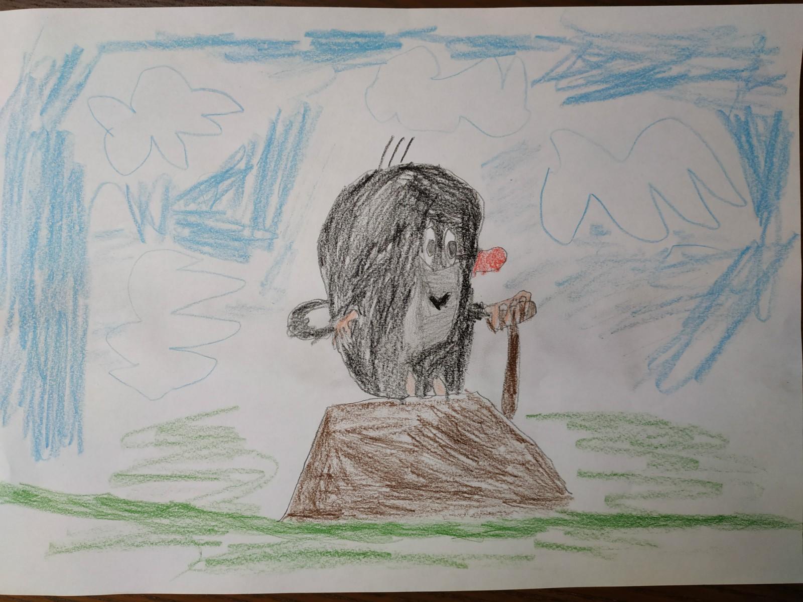 obrázek krtka